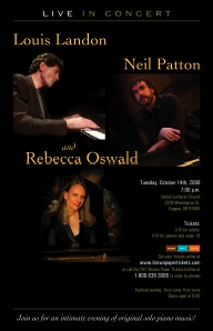 Rebecca Oswald, Louis Landon, Neil Patton